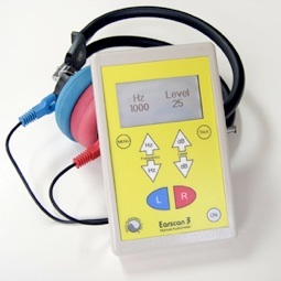 Micro Audiometrics Earscan 3 Manual Audiometer